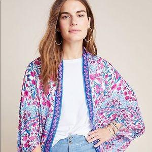Anthropologie Cocoon Kimono; One Size; NWT
